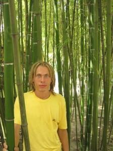 Сёмчик в бамбуковом саду