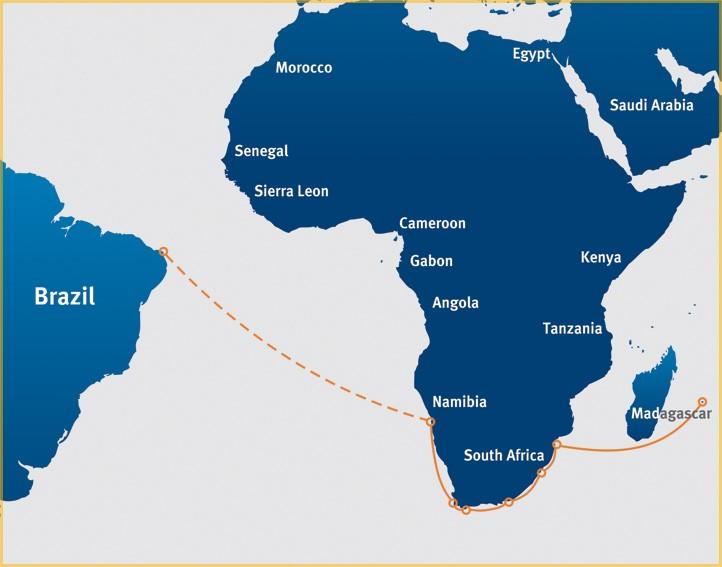 Карта мореплавания