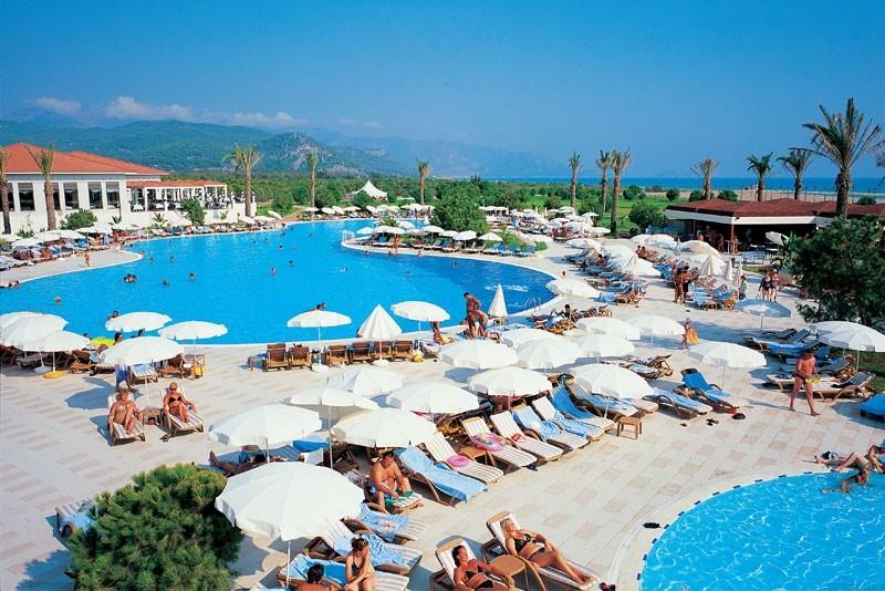 Лучшее время отдыха в Турции.