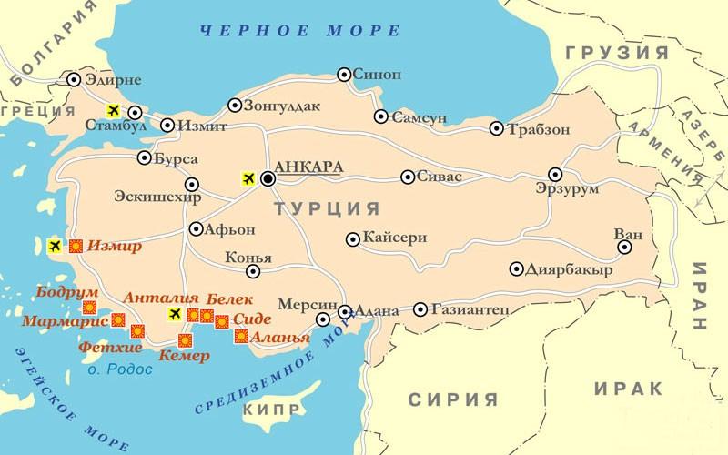 Средиземноморская-Турция