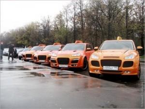 Порше такси в Москве