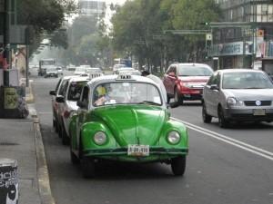 Такси в Мексике VW Beetles