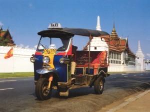 tuk-tuk в Тайланде