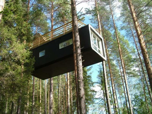 домик на дереве The Cabin