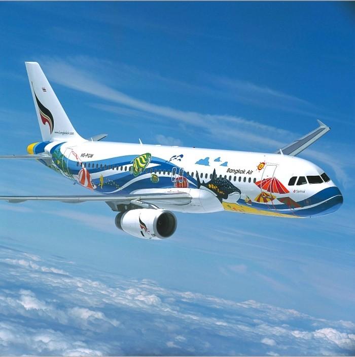 Время полёта до Тайланда