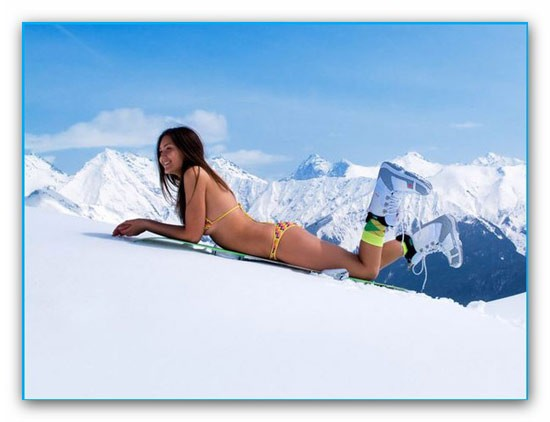 где отдохнуть зимой 2011 Алтай