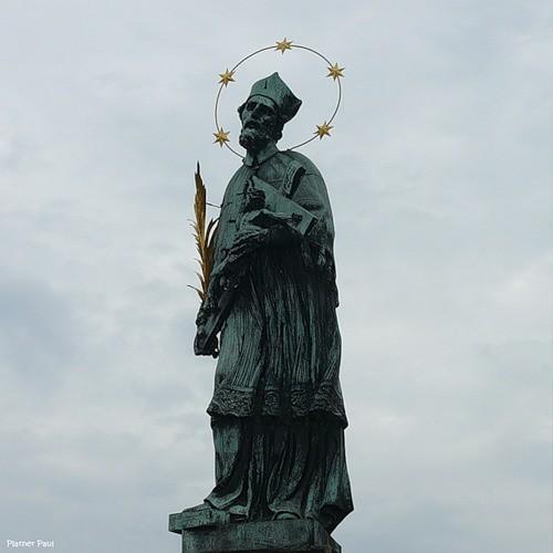 Чехия в феврале (стелла святому Иоанну Непомуцкому)