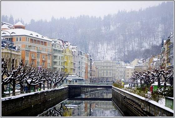 Погода в Чехии в январе