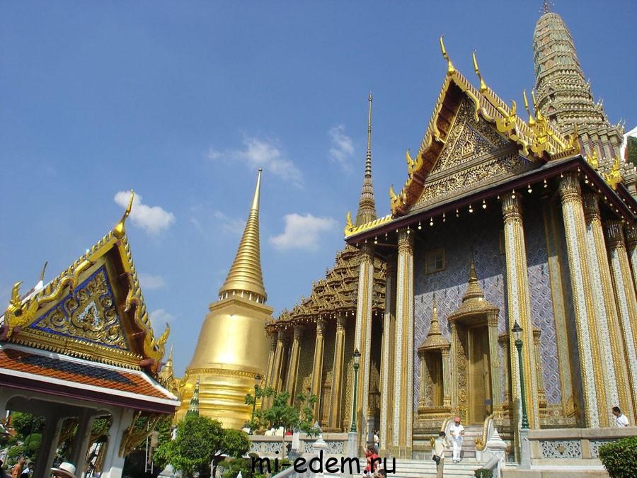 Храмы Тайланда. Большой Королевский Дворец.