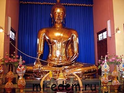 Храмы Тайланда. Ват Трай Мит