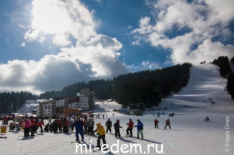 Болгария зимой Пампорово