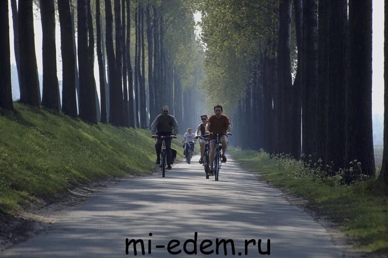 Велотуризм Бельгия