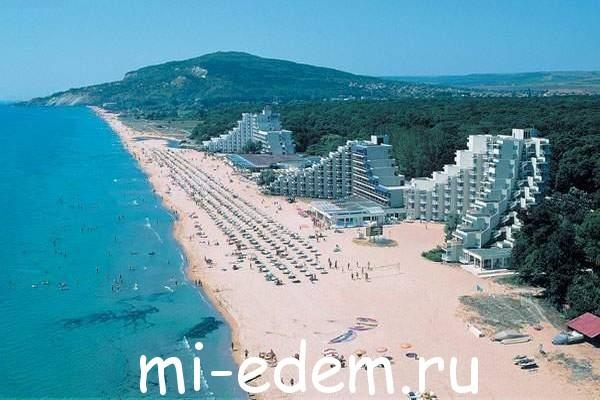 Лучшие курорты Болгарии Албена