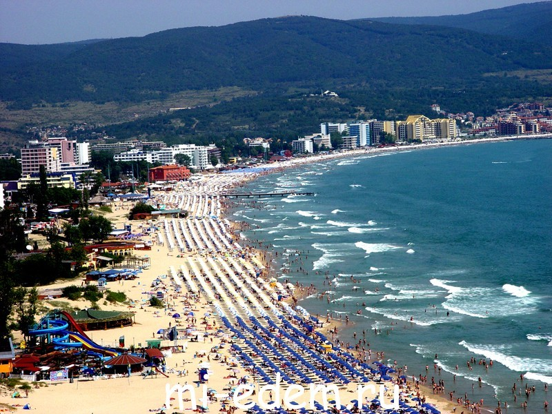 Лучшие курорты Болгарии Солнечный берег
