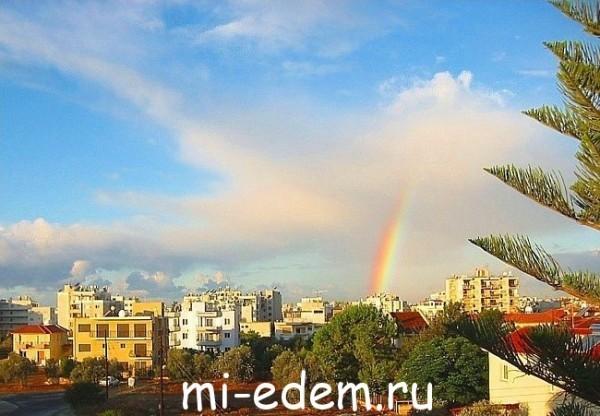 Погода на Кипре в октябре