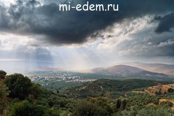 Погода в октябре на Крите