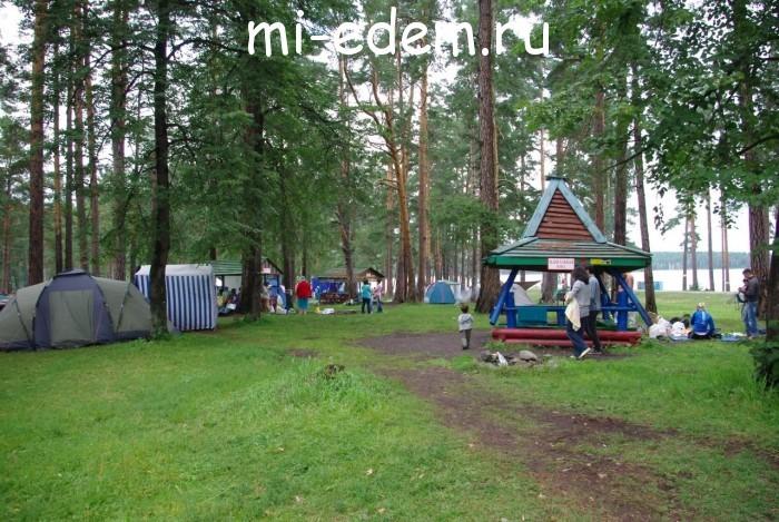 Отдых на озере Тургояк