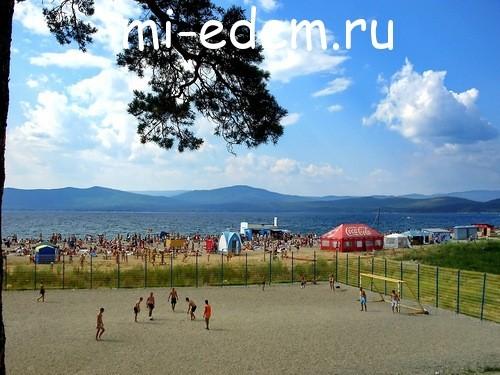 Пляжи Тургояк