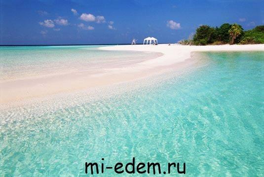 Температура воды на Мальдивах