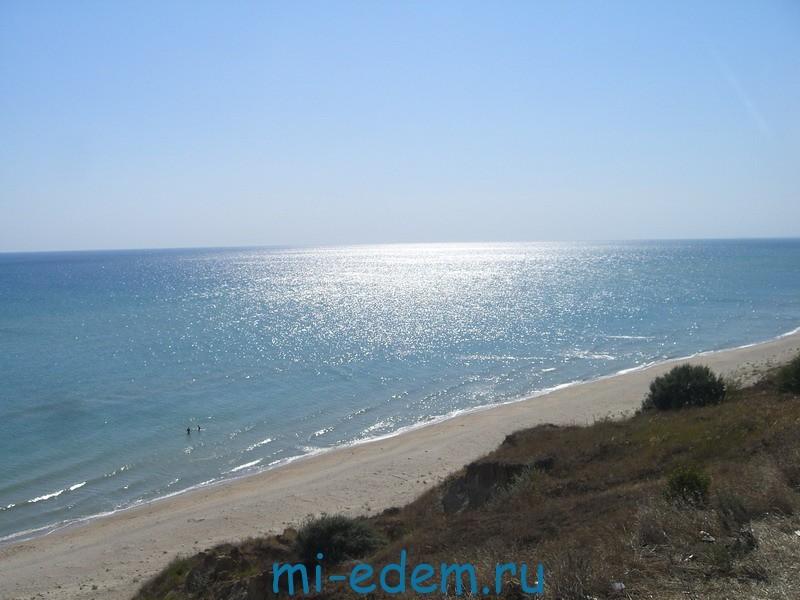 Азовское море в июне