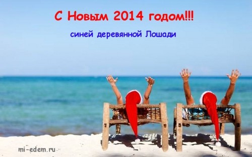 Как мы отдыхаем на новый год