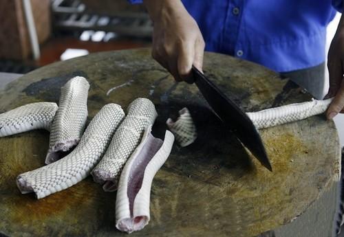 Змеиная ферма  Вьетнам