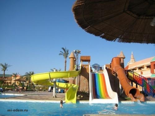 Лучшие аквапарки Египта