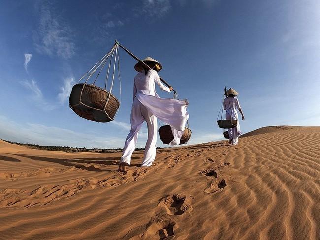 Красные дюны Вьетнам