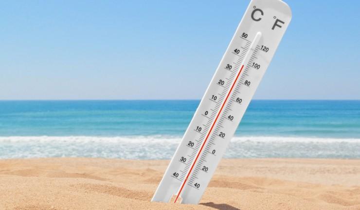 Температура воды в Черном море