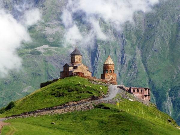 казбек кавказские горы
